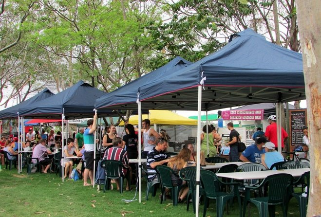 Brisbane Farmers Market in Cannon Hill