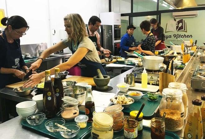 Taya Kitchen Asian Cooking School Must Do Brisbane