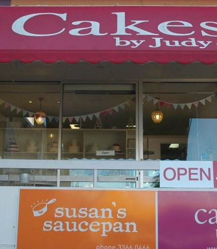 Shop front of Cakes By Judy C Ashgrove